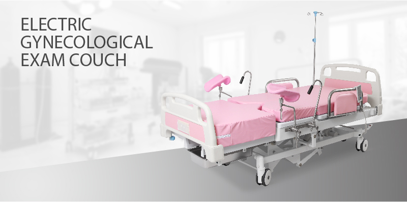 A98-3Q Hospital Adjustable Gynecology Examination Obstetric Couch Bed