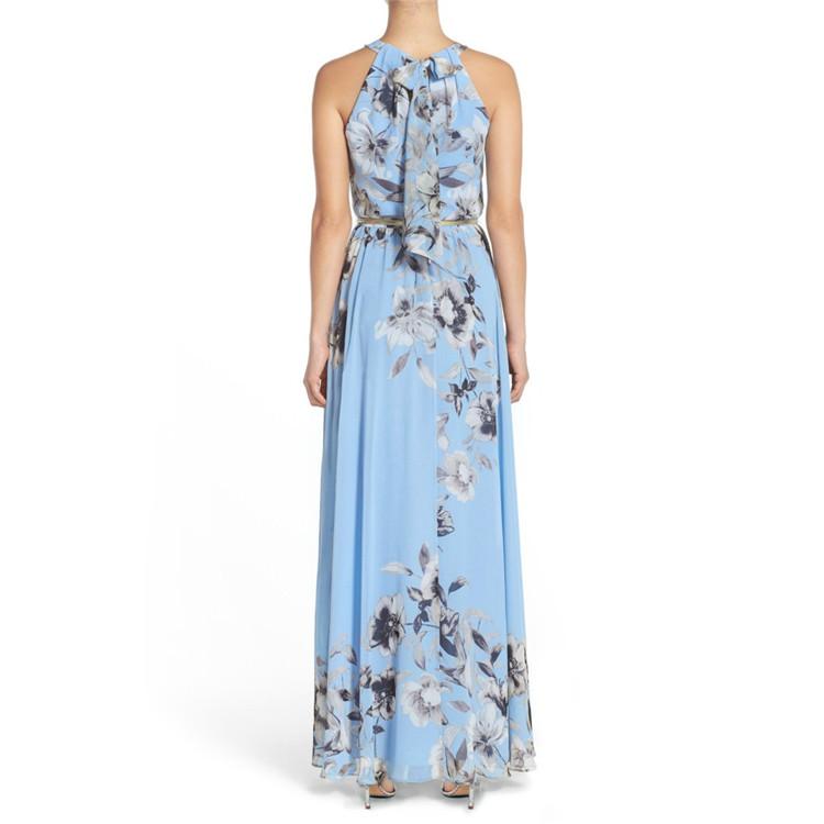 D93674 Halter Women's Dresses Floral Dresses Woman Dress Summer 2020 Summer Dresses Women Casual