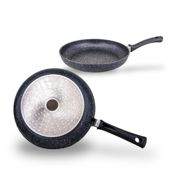 Stone Coated Frying Pan, Oil Free Frying Pan, Quail Egg Frying Pan for Induction Cookers