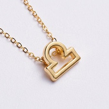 Female Elegant Star Zodiac Sign 12 Constellation <strong>Necklaces</strong> Pendants Charm Gold Chain Choker <strong>Necklaces</strong> for Women Jewelry D