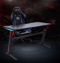 Professional Gaming Adjustable Game Club Office <strong>Table</strong> RGB led lights gaming Desk
