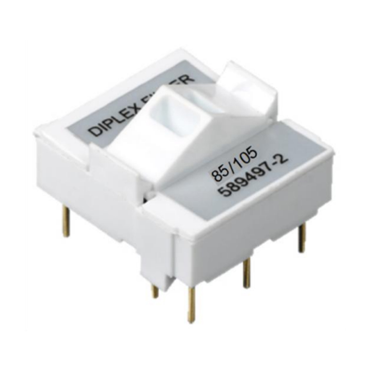 1.2 GHz 85/105 Waterproof Original Complete Diplex Filter Used For Nodes Amplifiers Line Extenders