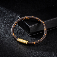 2020 Simple Animal Print Snake mens Leather Bracelet couple gift fashion smart bracelet accessories