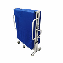 YFTC-J2A(III)Hospital Single Foldable Metal Patient Trolley