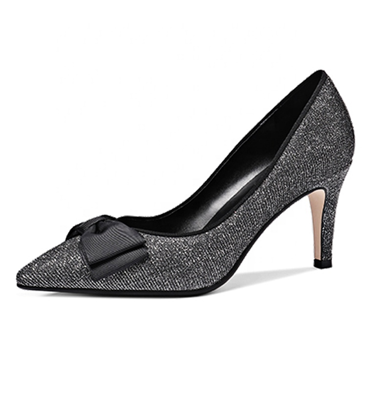 2019 High Heel Stiletto Women Pumps Wholesale Leather x19-<strong>c115</strong> Ladies Women Dress Shoes Heels For Lady