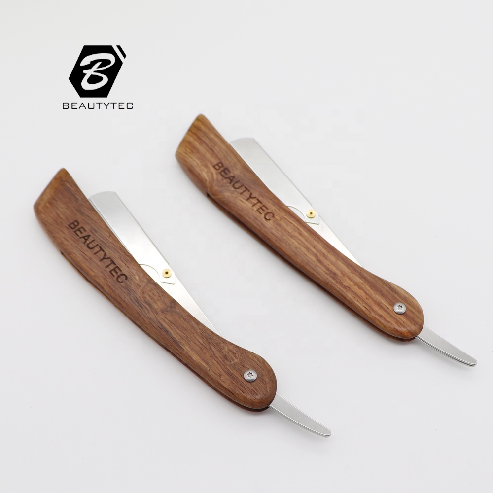 Classical Cut Throat Shaving Razor shaving with ABS handle barber razor