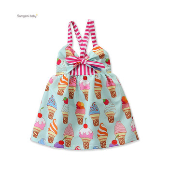 boys winter print jeans dress romper girl baby frock styles new born clothes
