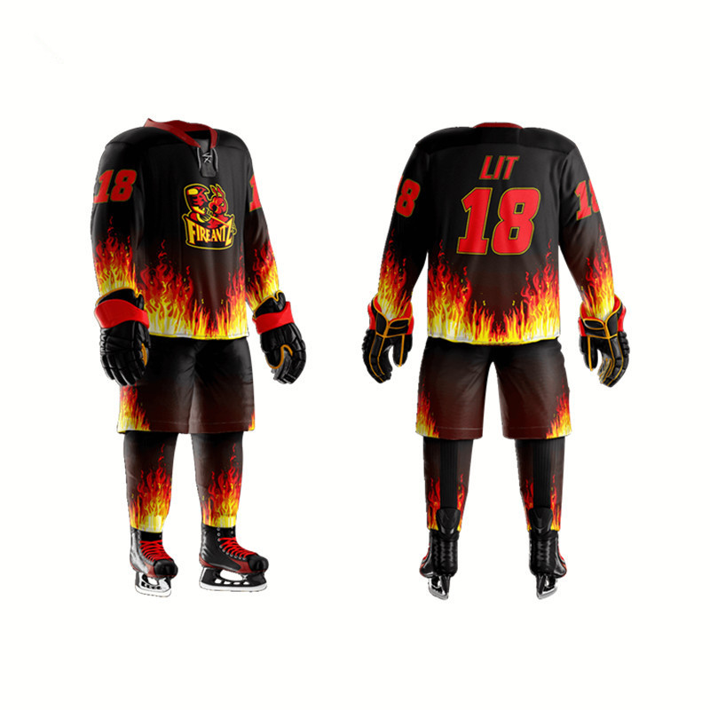 Custom High Quality Cheap Sublimation Printing Ice Hockey Jersey