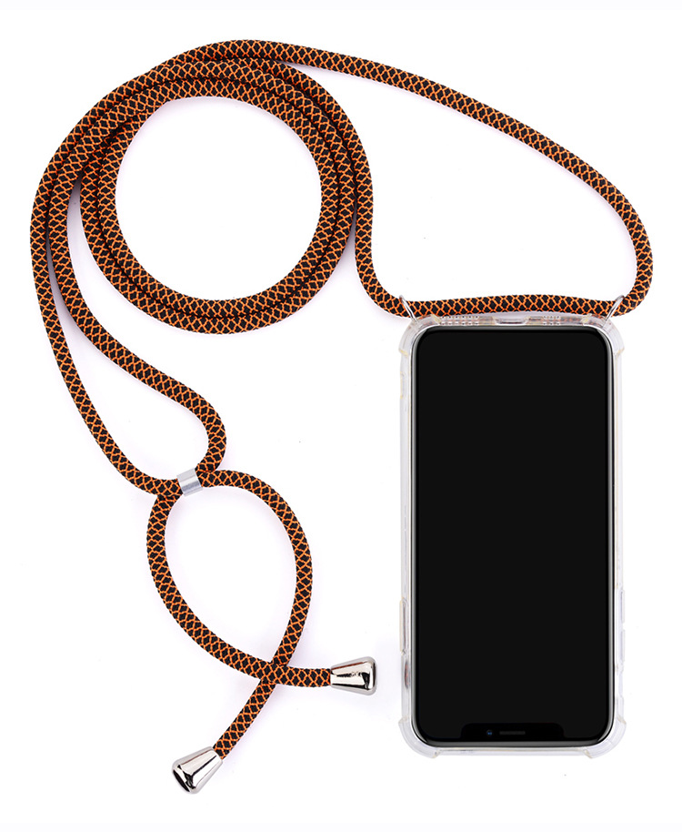 Necklace Crossbody Cell Phone Case With Colorful Shoulder Strap Rope Chain For Huawei P10 P20 P30 Pro Mate10 20 Pro <strong>P</strong> smart 2019