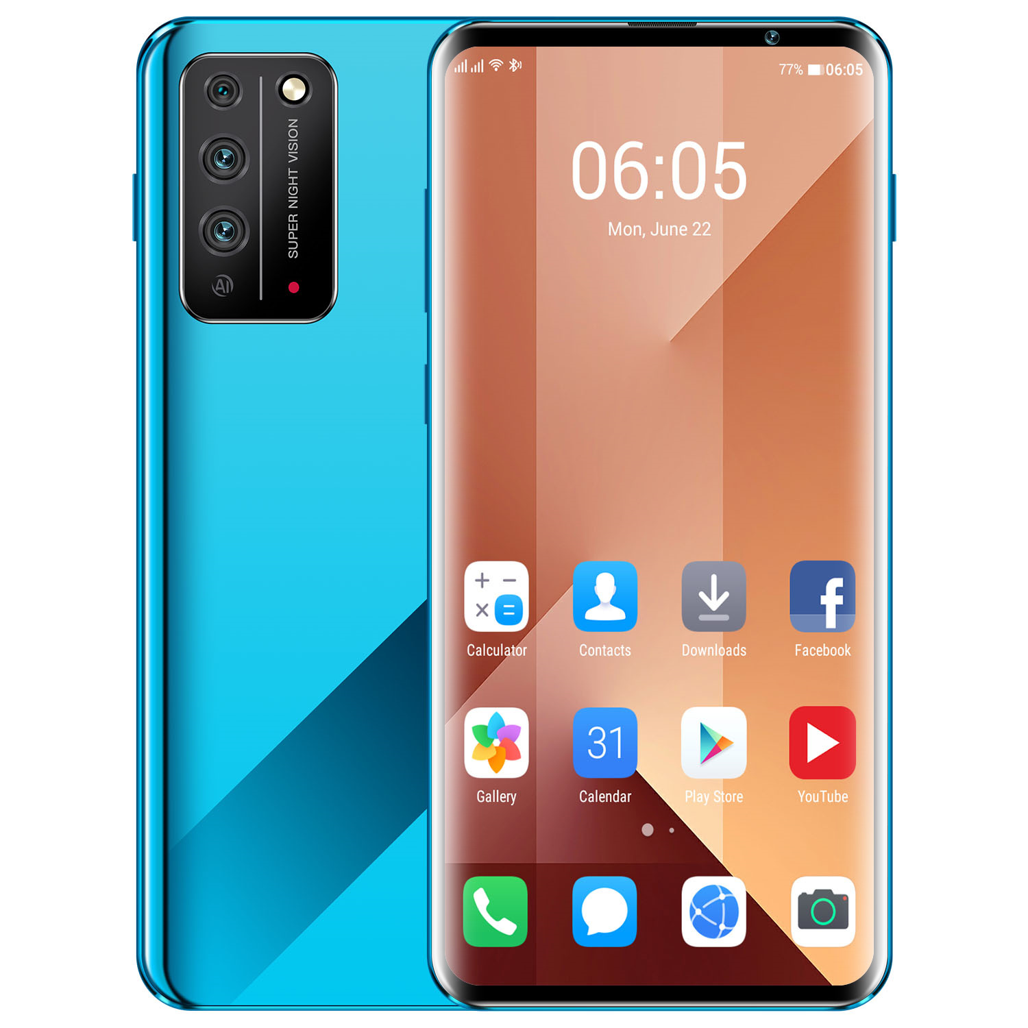 2020 Cheap Smartphone <strong>X10</strong> Pro with 6.8 Inch 4K Curved <strong>Screen</strong> 8+256GB Large Memory Smartphone 4G Dual Card Support Smart Wake