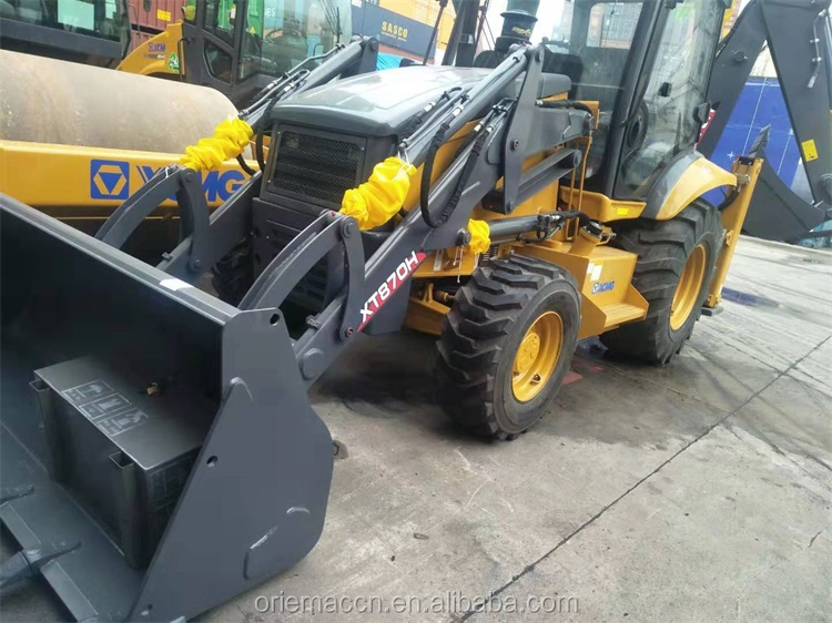 Good Quality XCMG retroexcavadora XT870H 9ton Loader Backhoe with 1m3 bucket