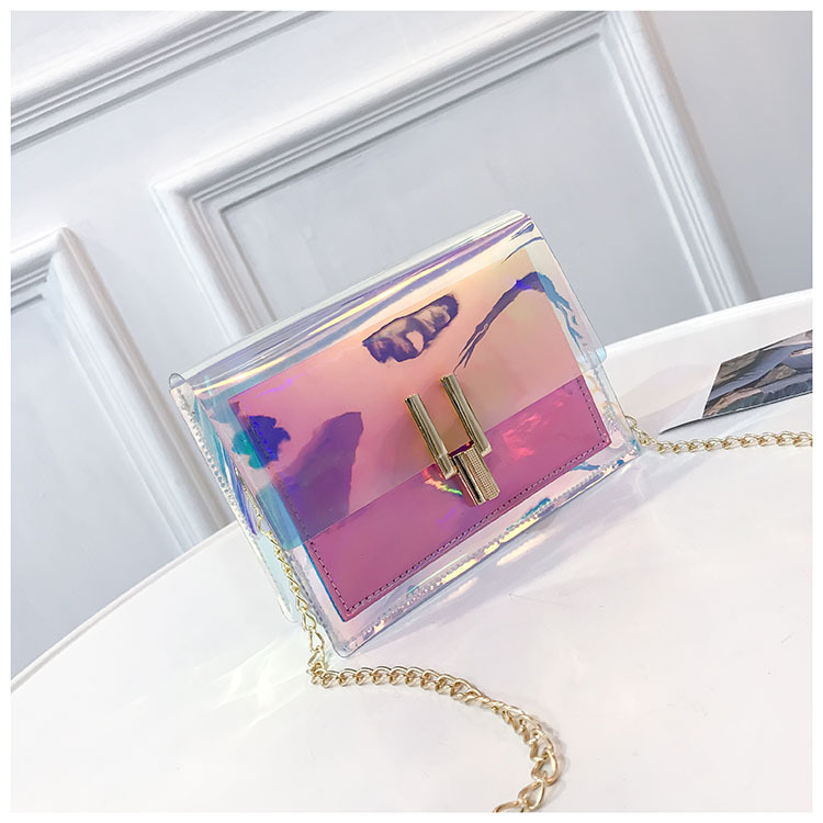 2019 New fashion ladies pvc handbag jelly shoulder bag cheap clear designer purses handbags for <strong>women</strong>