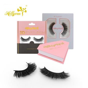 Custom private label double tips flat false eyelashes softer touch as 0.05mm thickness lashes