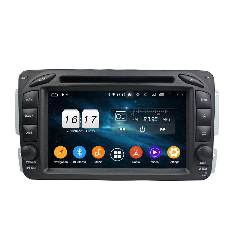 new model <strong>Android</strong> 9.0 car radio gps navigation for Mercedes for Benz ML CLASS <strong>W164</strong> car dvd audio player