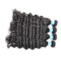 Quality Malaysian Water Wave Weft Hair Extensions,Tangle Free Hair For Weaving Hair Relaxer