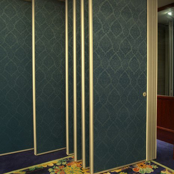 Roma Operable Partition Wall in restaurant big banquet conference room divider wall