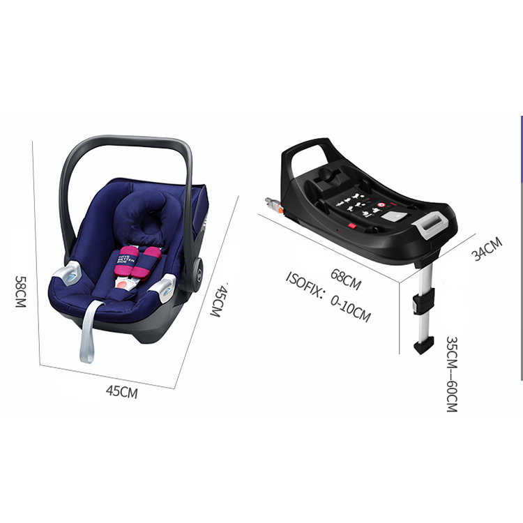 China Supplier Top Seller Rotation 360 Degree Group0+123 0-36Kg Infant Baby Car Seat basket