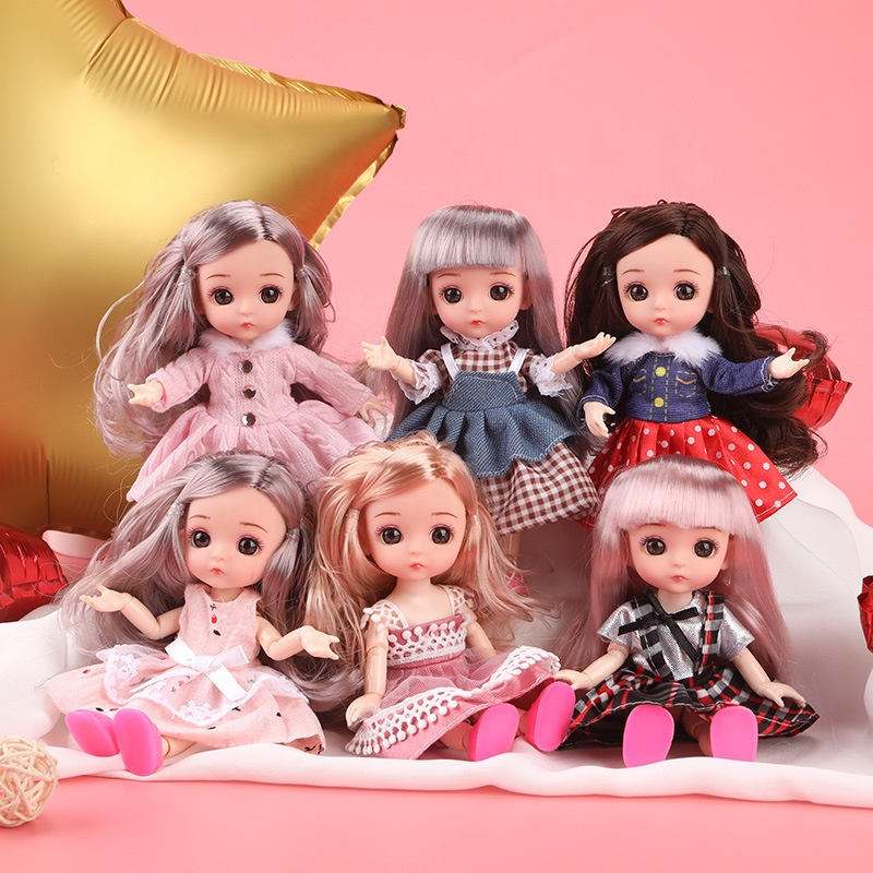 New arrival cute lovely flexible girl <strong>dolls</strong> for kids Christmas toys gifts decoration