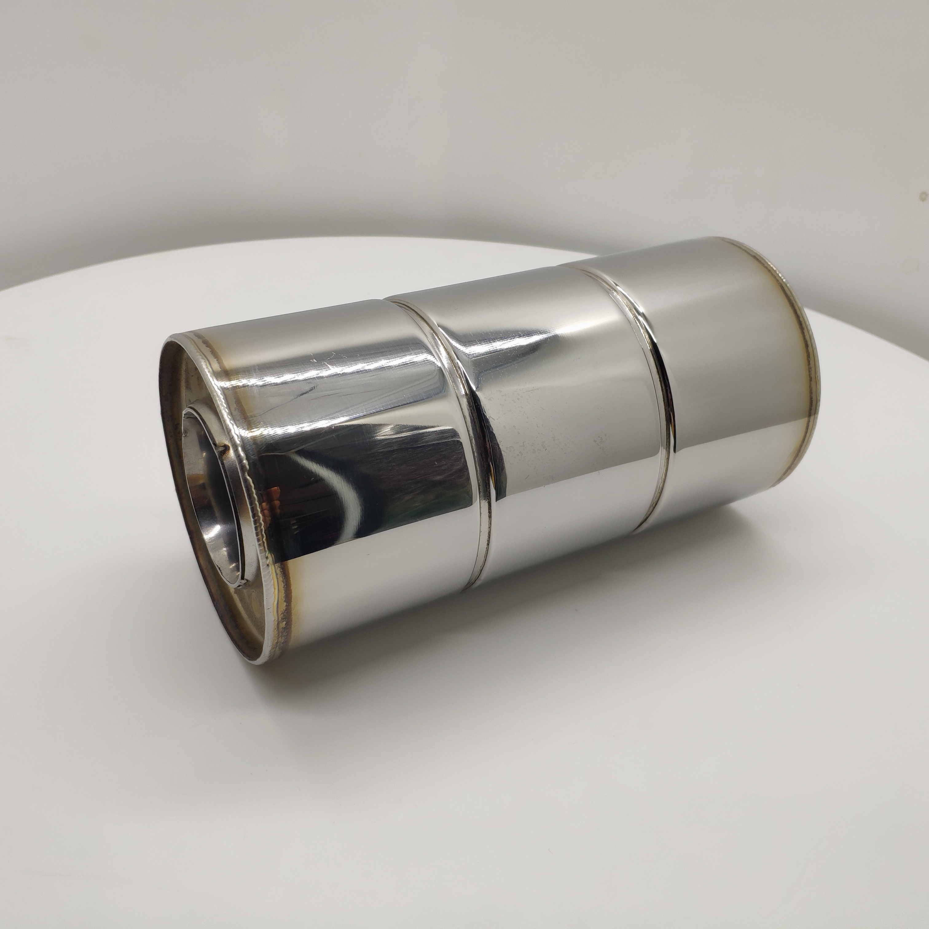 M Performance Straight Stainless Exhaust MufflerPipe Silencers