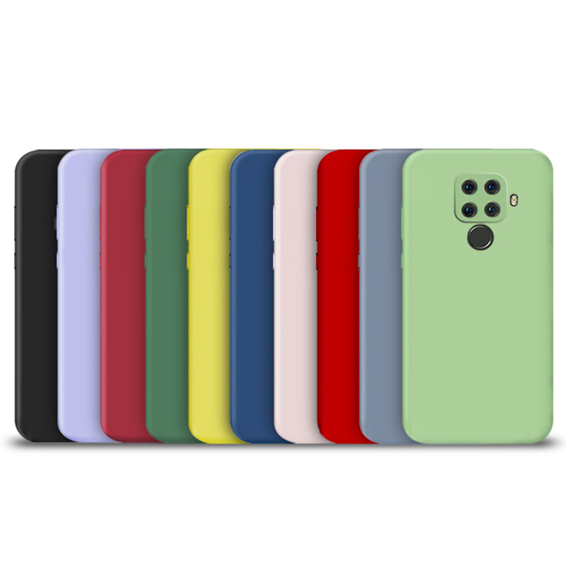 candy color silicone <strong>phone</strong> <strong>case</strong> for huawei p30 lite pro p20 lite p10 p smart plus z 2019 2018 matte soft tpu back cover