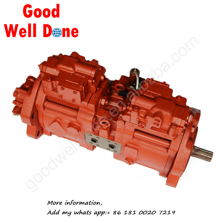 GOODWELL Excavator Hydraulic Part K3V112  China Main Hydraulic Pump