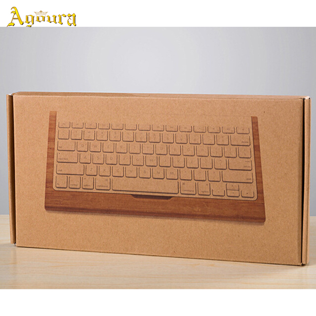 Customized Bamboo Wood Office Computer Keyboard Tray