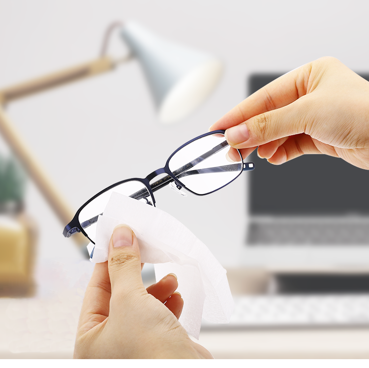 Eyeglass Cleaning Wet Wipes, Anti-fog,Anti-dust, with OEM/ODM Customized Logo