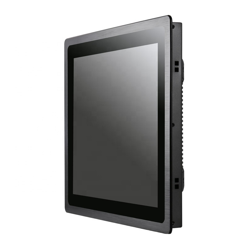 <strong>1280</strong> <strong>x</strong> 1024 HDM-I VGA 17 inch industrial capacitive / resistive touch screen monitor