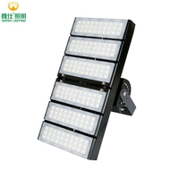 NZ Top Performance Luminaire IP67 Latest Top Quality Asymmetric High Power sport led 200 w football Tunnel Light Square