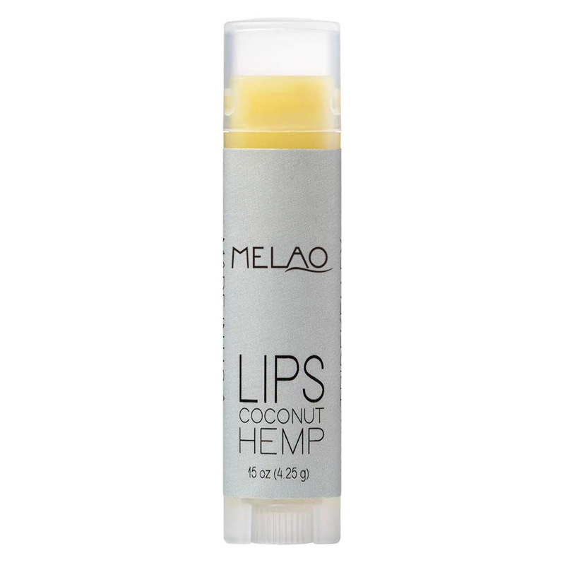 MELAO New Product All Natural Pure Dry Lip For Moisturizer Lip Care Vegan Hemp Oil Lip Balm