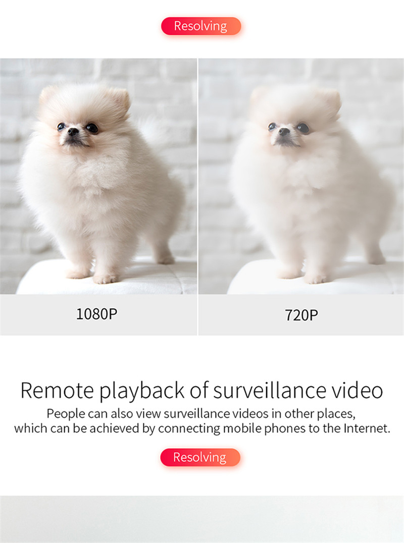 2400 mah high capacity battery camera espia two way audio night vision motion detection hidden spy cam wireless wifi mini camera