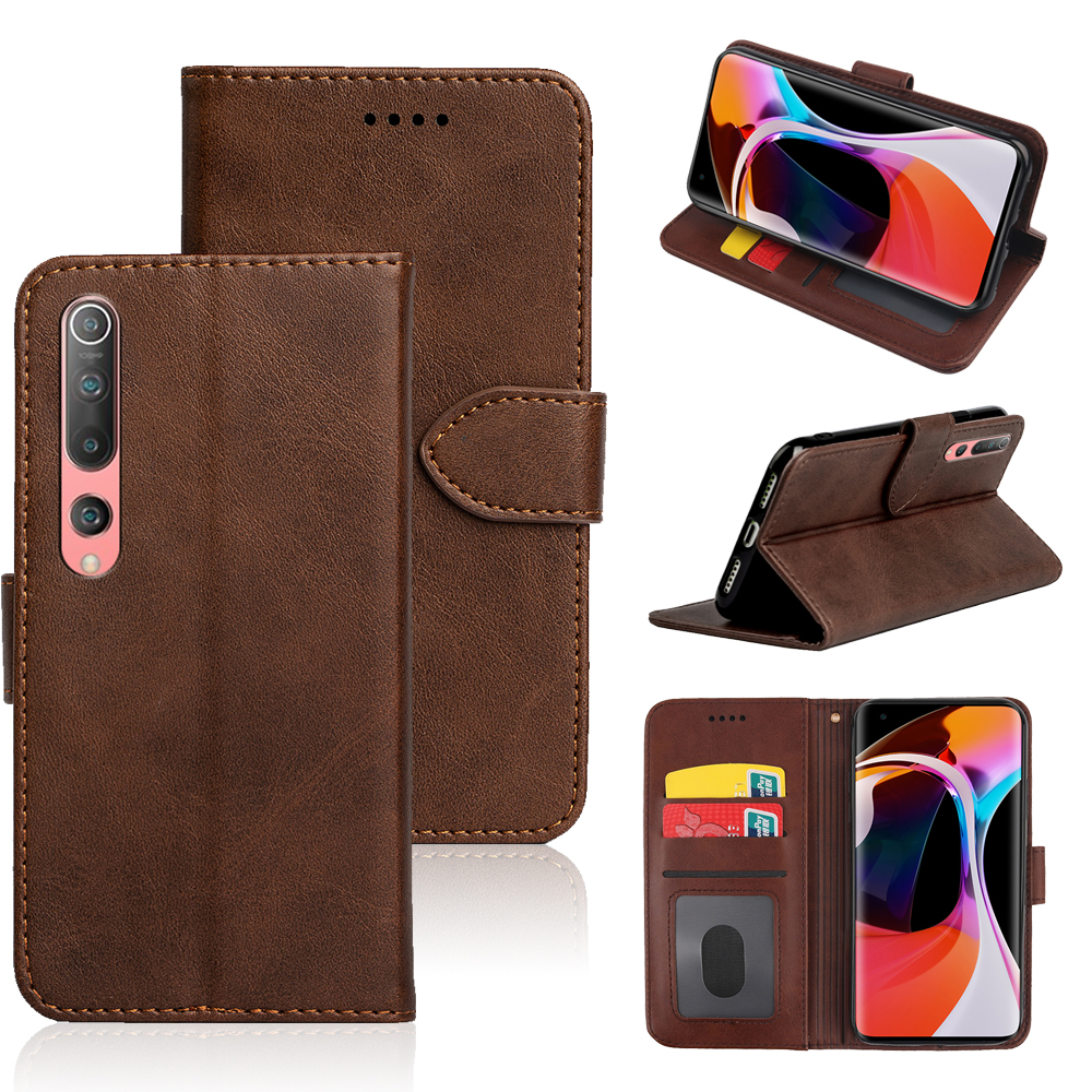 Retro flip leather wallet cover case for Xiaomi Mi 10 Pro Note 10 9 CC9 CC9E A3 Redmi 7 Go K20 Pro Note 7 7S 7 8 Pro 8T <strong>Y3</strong>