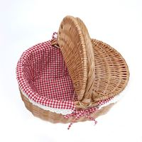 Storage Gift Small Wicker Cheap Home Decor Basket With Handle