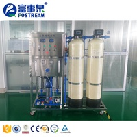 Fostream Filter Water Purification System Plant Ozone Generator UV Reverse Osmosis Membrane RO Water Treatment