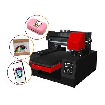 2019 ColorSUN hot sell Automatic A3 UV flatbed printer for mobile cover /pen/bottle printing machine