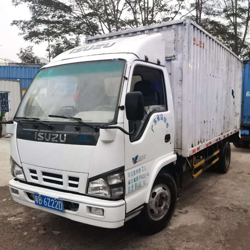 Used Isuzu 5t light cargo <strong>truck</strong> ready to ship