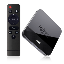 H96 MINI H8 <strong>Android</strong> 9.0 TV Box 2.4G/5G WiFi Bluetooth 4.0 USB2.0 1080P H.265 Smart TV Set Top Box
