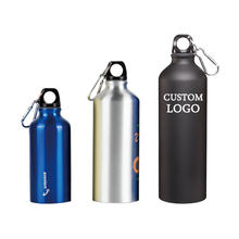 Customized logo printing aluminum sport water bottle