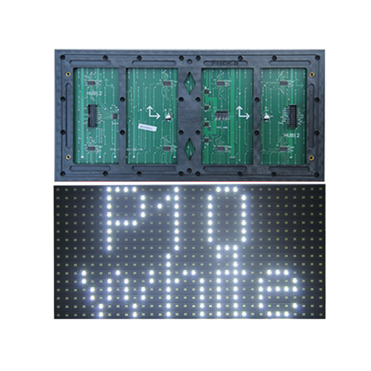 Evershine <strong>p10</strong> SMD <strong>1W</strong> white tupe outdoor single color <strong>led</strong> module for advertising <strong>led</strong> <strong>display</strong> screen price