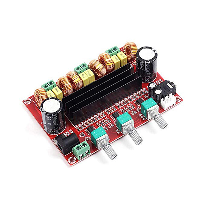 2.1 Channel 50W*2+100W XH-M139 TPA3116D2 Digital Subwoofer Power class <strong>D</strong> amplifier module Board DC12V-24V XH-M139