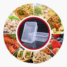 Take Away Custom Printed Disposable PP Plastic Microwave Food Container Lunch Box