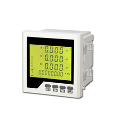 RH-3D3Y 4 digital three phase LCD display smart meter energy meter multimeter with RS485 <strong>communication</strong> &amp;Modbus