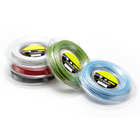 durable cheap colors round polyester tennis string multifilament