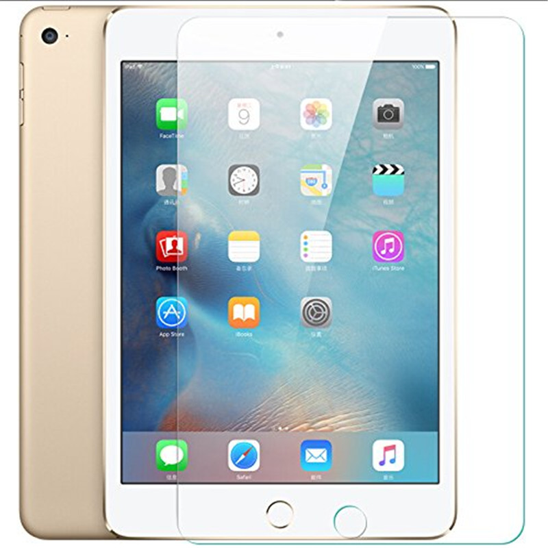 Screen Protector for iPad Mini <strong>1</strong> / Mini 2 / Mini 3 Tempered Glass [9H Hardness] [Crystal Clear] [Scratch Resist]