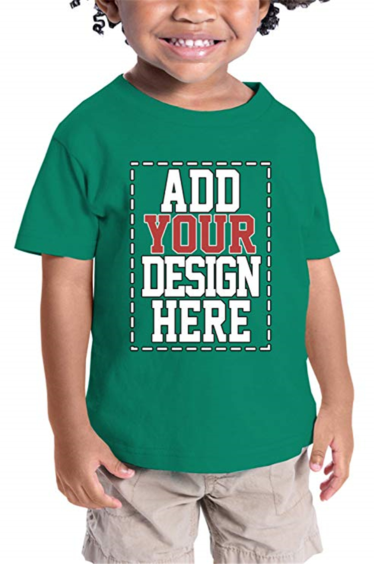 Different Colors Baby Boy Short Sleeve T-shirt Kids Wholesale Fashion Custom Printing Bulk Plain Children T-shirt Kids Models