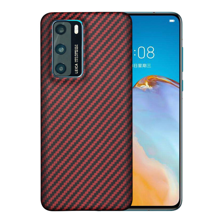 Carbon Fiber And Aramid Fiber <strong>Phone</strong> <strong>Case</strong> For Huawei P40