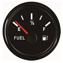52mm Truck Diesel tank Instrument Fuel Level <strong>Meter</strong> Gauge 240-33ohm With Backlight