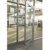 Aluminum alloy frame Hinged doors tempered glass Casement door for commercial