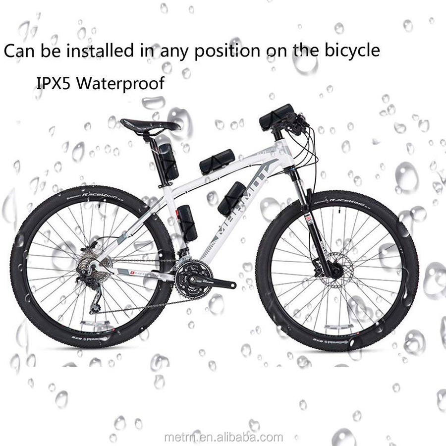 Waterproof outdoor wireless Portable bicycle Speaker with LED