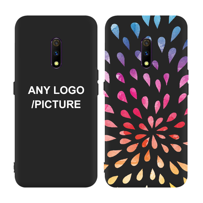 New Customized Silicone TPU Slim Cell phone Cover for oppo realme x 3 3 pro k3 a5s f9 f11 r15 pro r11s Matte Mobile Phone Case